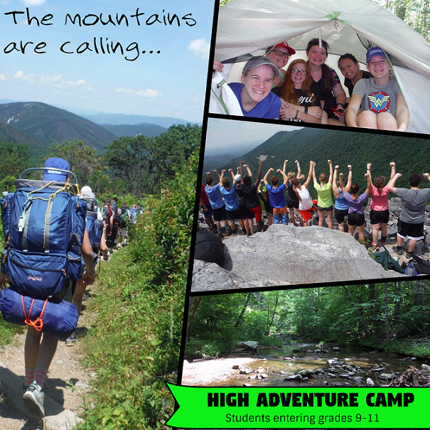 High Adventure Camp 2018web
